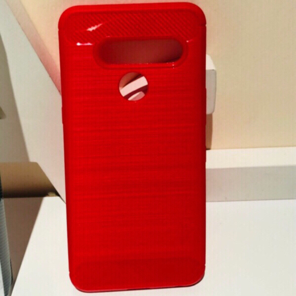 Used Phone LG V50 Cover and screen protection in Dubai, UAE