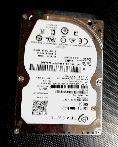 Used Seagate 500GB HDD in Dubai, UAE