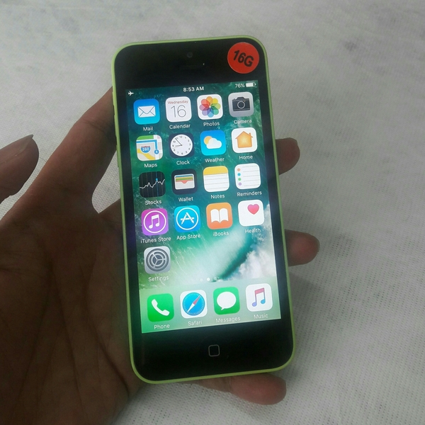 Used iPhone 5c 16Gb (Used Mobile) Mint Green in Dubai, UAE