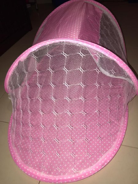 Used Baby Bed/Crib Pink colour 100% Quality. in Dubai, UAE