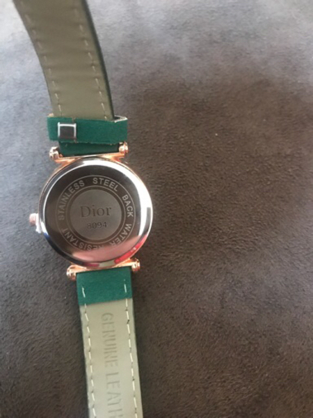 Used Green Dior watch  today only 150 in Dubai, UAE