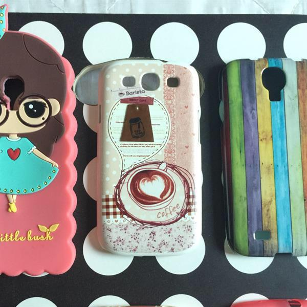 Used One Day Offer Samsung Galaxy S4 Mobile Cover - 6 Pc.  in Dubai, UAE