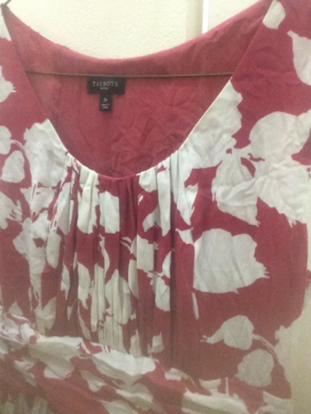 Used red dress in Dubai, UAE