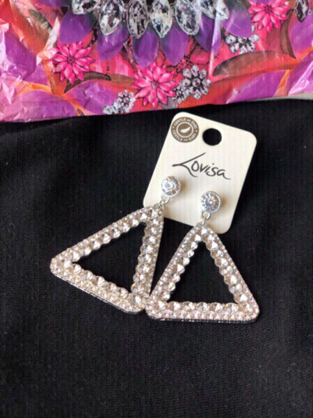 Used Silver Lovisa crystal from accessories💎 in Dubai, UAE