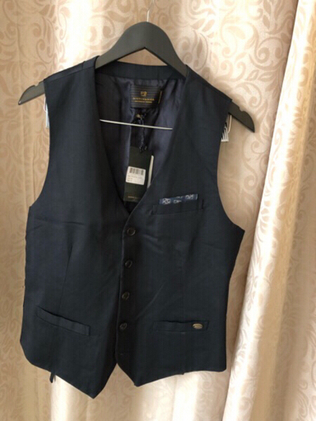 Used Vest SCOTCH&SODA size M dark blue in Dubai, UAE