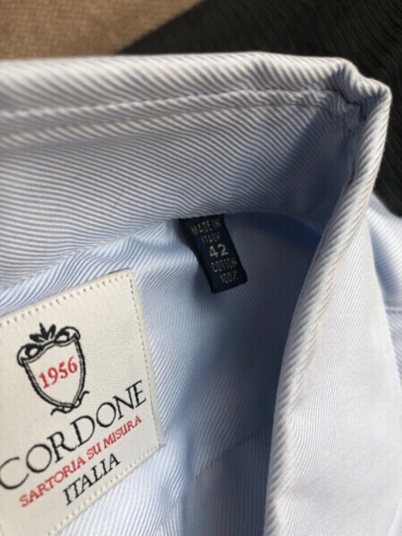 Used CORDONE men's shirt size 42 in Dubai, UAE