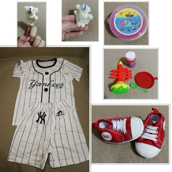 Used Baby items cloth and toys in Dubai, UAE