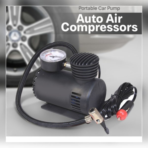 Used Portable car pump air compressor in Dubai, UAE