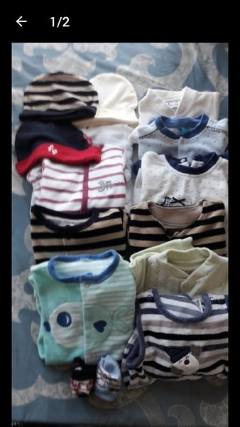 Used Baby body and rompers in Dubai, UAE
