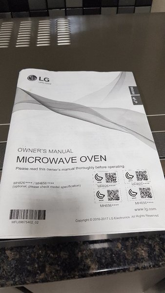 Used Microwave oven LG in Dubai, UAE
