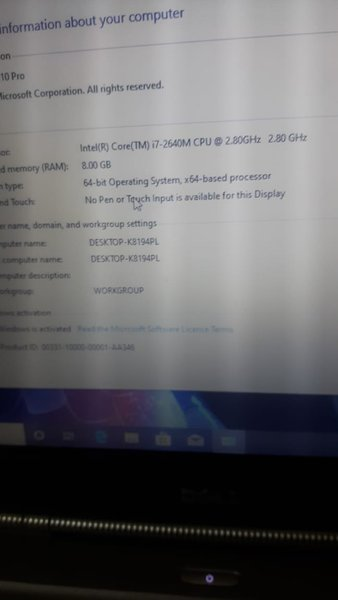 Used dell i7 with nvidia Graphics  gaming Pc in Dubai, UAE