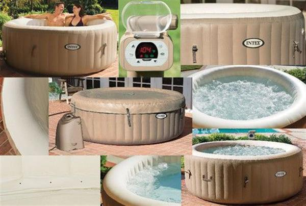 Used PureSpa Bubble Massage Spa in Dubai, UAE