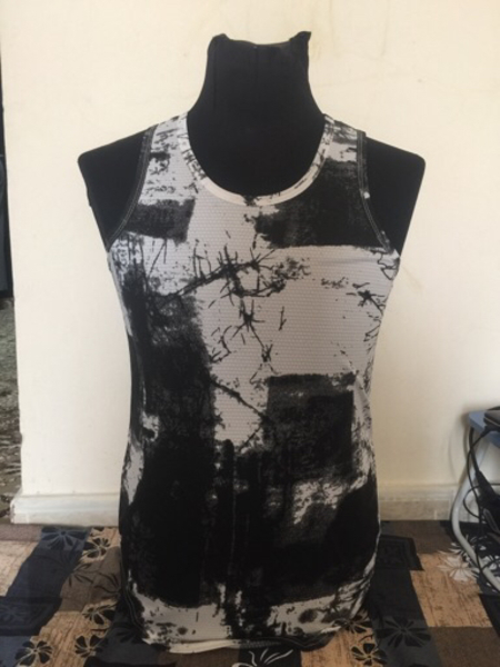 Used Black textured vest - Size Medium in Dubai, UAE