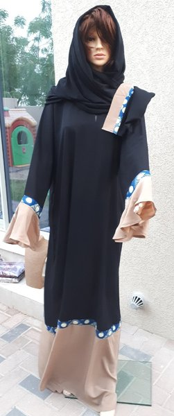 Used New abaya with exotic touch in Dubai, UAE