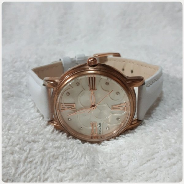 Used White POSSANO watch for lady in Dubai, UAE