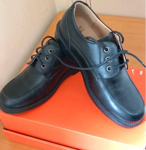 Used New genuine leather school shoes  in Dubai, UAE