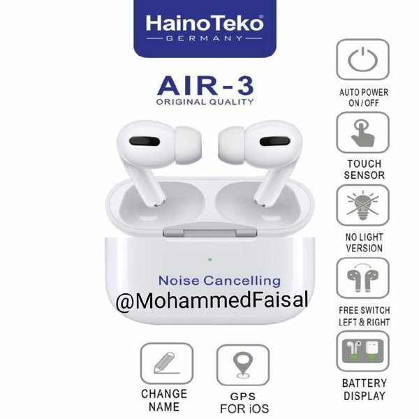 Used New Airpods Air3 Limited Edition White in Dubai, UAE