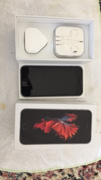 Used Iphone 6S 64 GB with box & all acc in Dubai, UAE