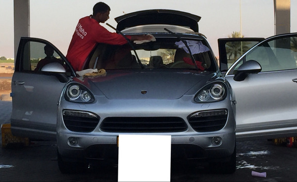 Used Porsche Cayenne S. GTS Kit in Dubai, UAE