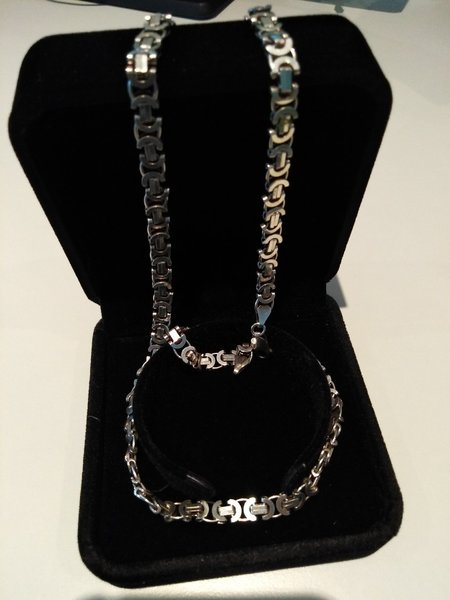Used Chanel Necklace Silver 925, Italy in Dubai, UAE