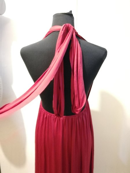 Used New ladies backless stretchable dress in Dubai, UAE