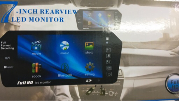 Used 7inch center mirror full HD  in Dubai, UAE
