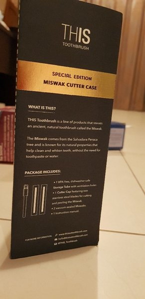 Used Miswak toothbrush special edition in Dubai, UAE