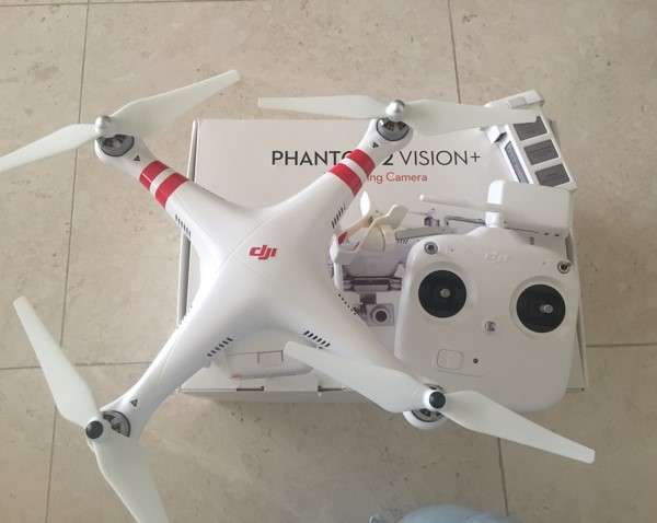Used DJI Phantom 2 Vision Plus  in Dubai, UAE