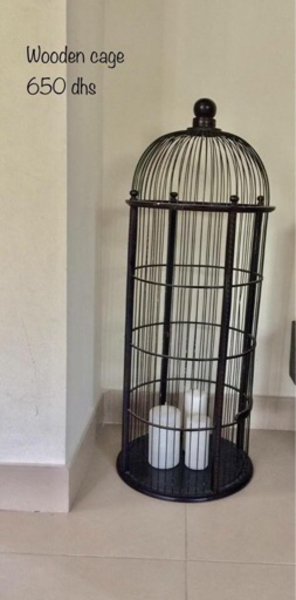 Used Wooden birds cage  in Dubai, UAE