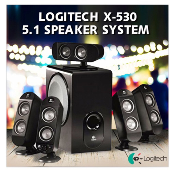Used Logitech X530 Speaker System in Dubai, UAE