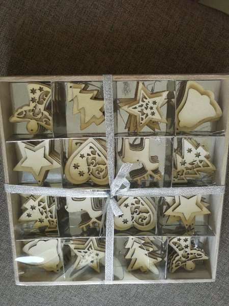 Used Wooden home decoration set from Zara hom in Dubai, UAE