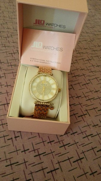Authentic Jlo Gold Watch