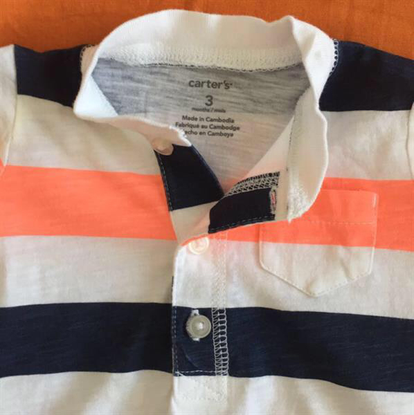 Used Branded Baby Boy Romper From Carters in Dubai, UAE