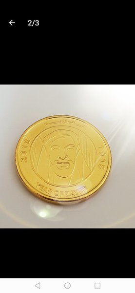 Used Gold plated coins in Dubai, UAE
