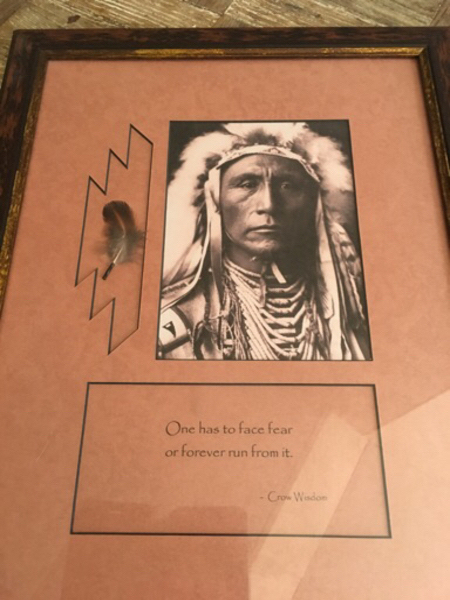 Used Framed Red Indian Chief picture in Dubai, UAE