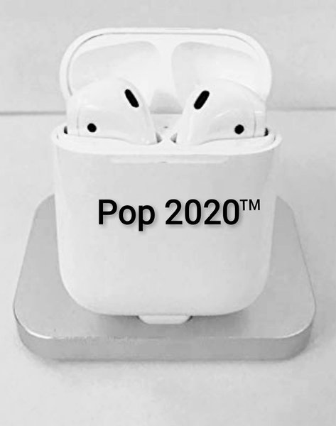 Used Hainoteko PoP2020 German Airpods White ⚪ in Dubai, UAE