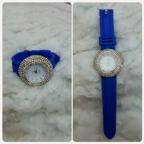 Used Watch SILVER/blue benchi for woman in Dubai, UAE