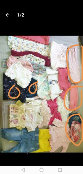 Used Bundle clothes size 1 to 2 years old in Dubai, UAE