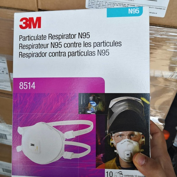 Used 3M N95 FACE MASK 10 PCS PACK in Dubai, UAE