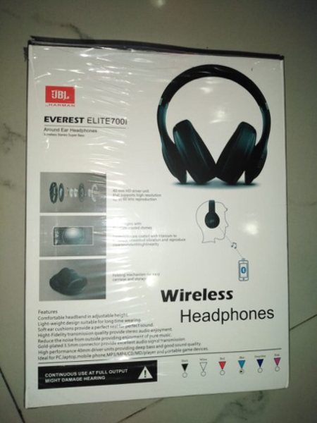 Used Headset wireless JBL in Dubai, UAE