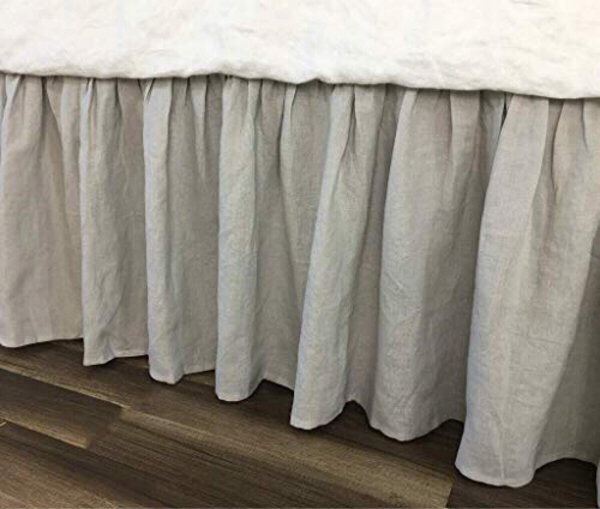 Used BED SKIRT LIGHT GREY/ KING SIZE in Dubai, UAE