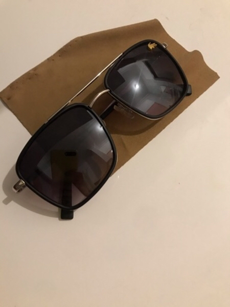 Used نظاره شمسيةBlack sunglasses Lacoste in Dubai, UAE