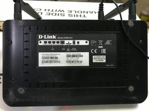 Used Dlink dir 921 4g router in Dubai, UAE