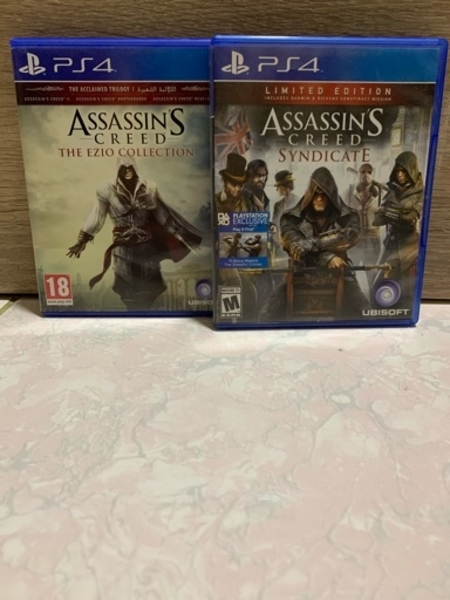 Used 2 ASSASSIN'S CREED GAMES FOR PS4 in Dubai, UAE