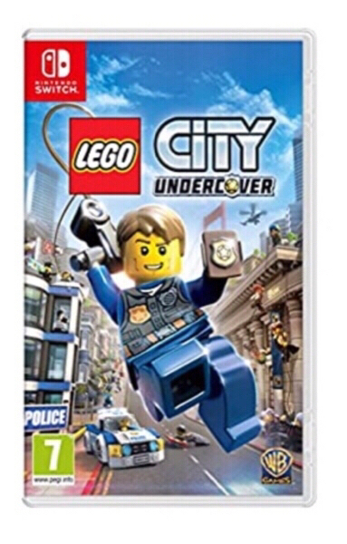 Used LEGO city undercover Nintendo in Dubai, UAE