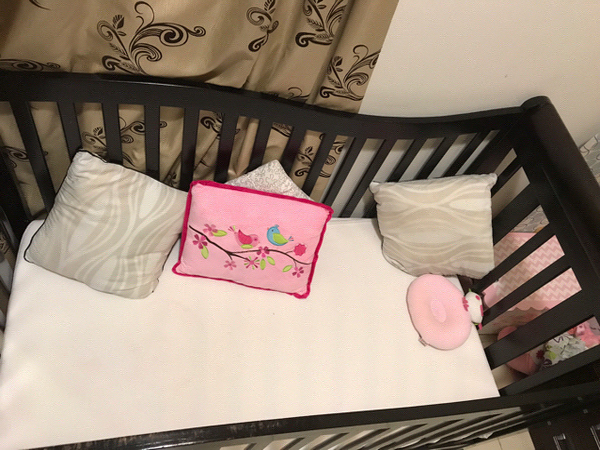 #Cot#bed#Mattress With a Free #Bumper And A #Pillow.
