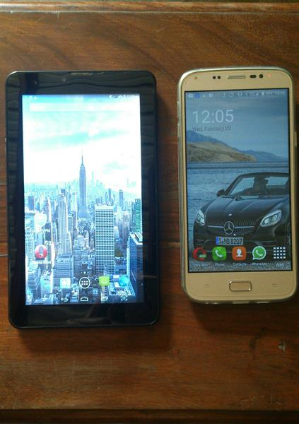 "Used 1+1LAVA Tab7""1GBRAM,16GBROM+SMART MOBILE 3GBRAM32GBROM GOOD CONDITION UESD in Dubai, UAE"