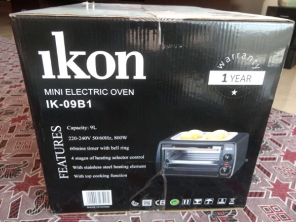 IKON 9L mini electric oven