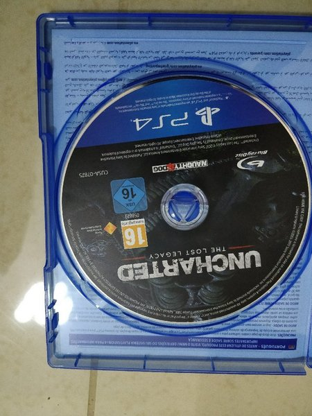 Ps4 game - unchartered lost legacy