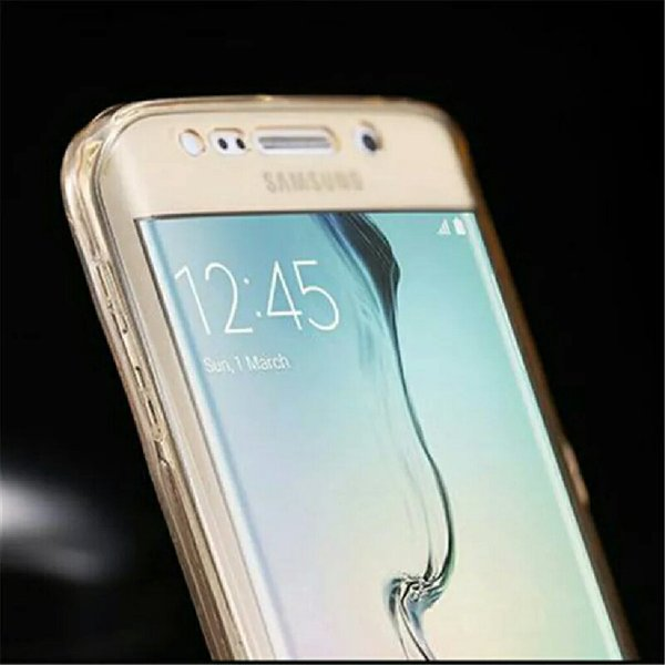 Used Soft TPU Full body Protective Clear Case in Dubai, UAE